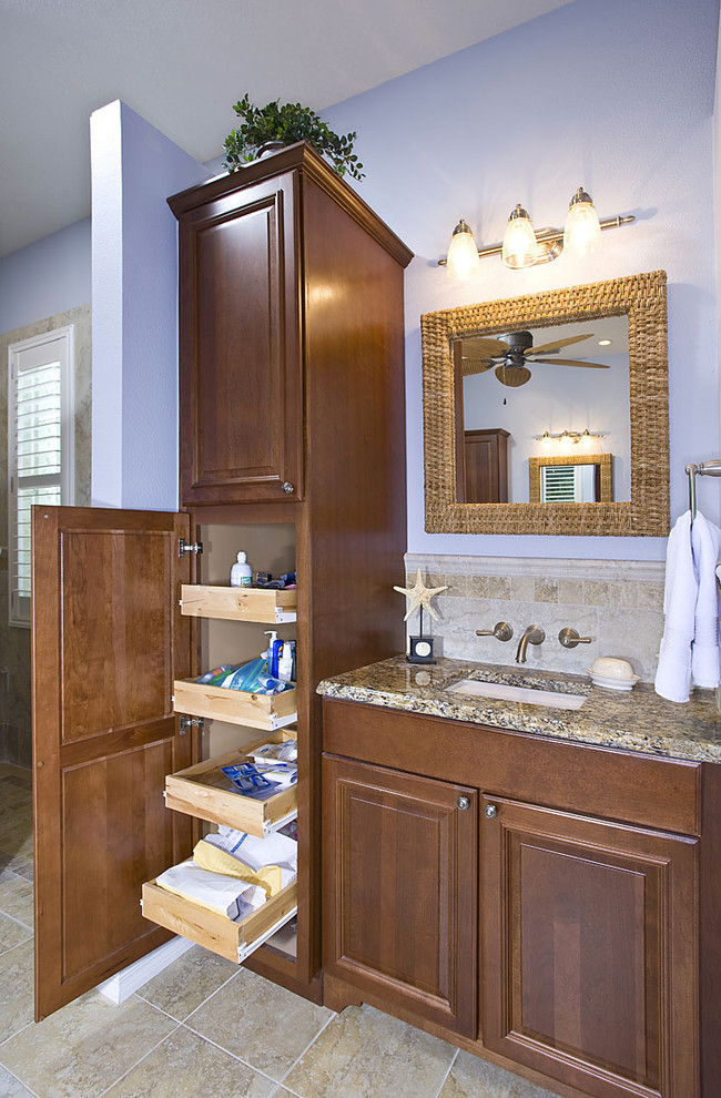 woodmark cabinets Bathroom Traditional with CategoryBathroomStyleTraditionalLocationTampa