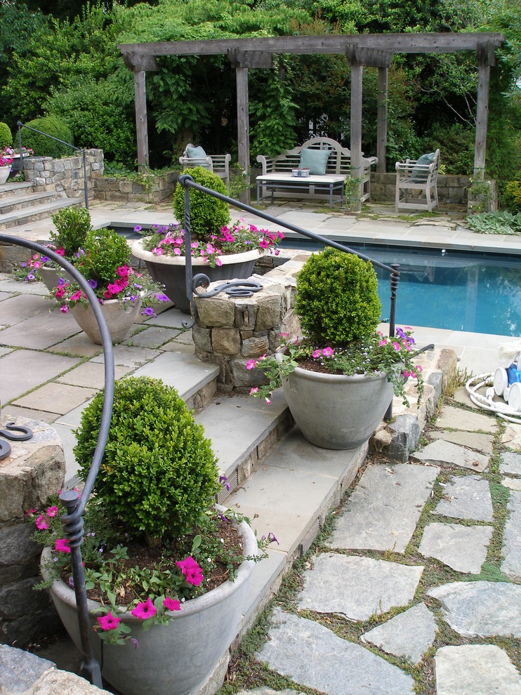 Wrought Iron Handrail Patio Traditional with Bench Calm Cottage Grass Iron Railing Lattice