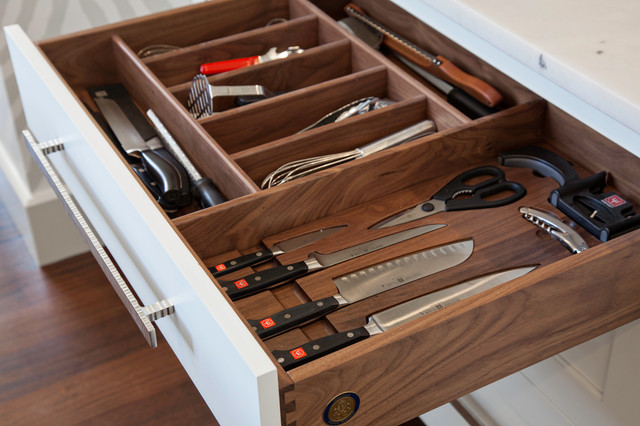 Wusthof Classic Knife Set Kitchen Transitional with Cutlery Drawer Knife Knives Medallion Pennville Walnut Wusthof