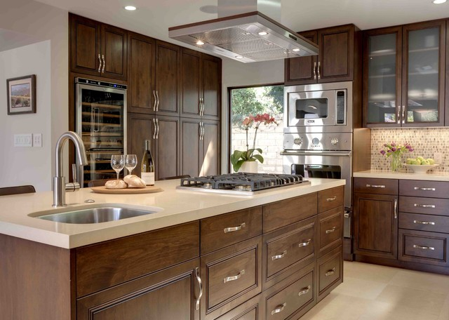 zephyr hood Kitchen Contemporary with beverage refrigerator built in microwave built in oven ceiling