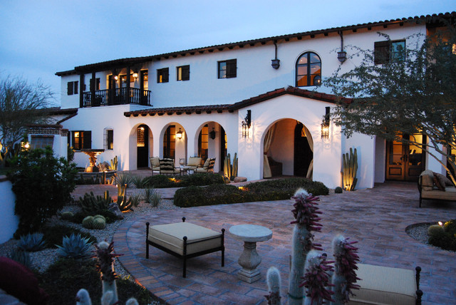 Acclaim Lighting Exterior Mediterranean with Arched Windows Arches Architecture