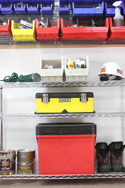 Akro Bins Garage and Shed Traditional with Garage Tool Storage Storage1
