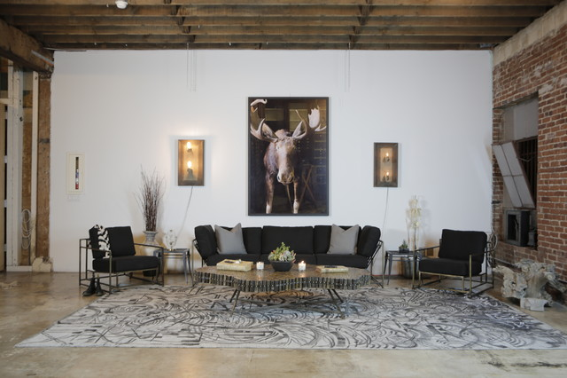 All Clad Roasting Pan Living Room Eclectic with Antique Art Artwork California