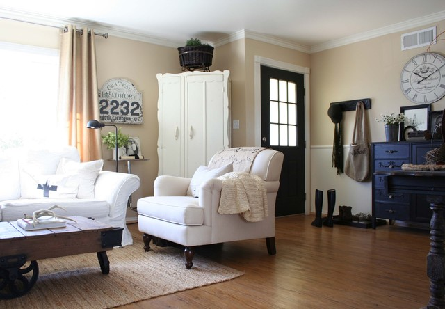 Allure Vinyl Flooring Living Room Traditional with Arm Chair Armoire Black