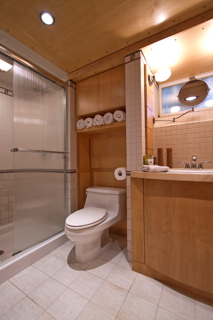 American Standard Toilet Seats Bathroom Contemporary with Downlights Flat Panel Cabinet