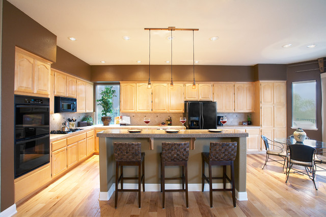 Anderson Hardwood Kitchen Asian with All American All American