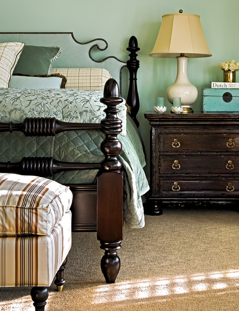 Ann Gish Bedroom Traditional with Bed Pillows Bedroom Bedside