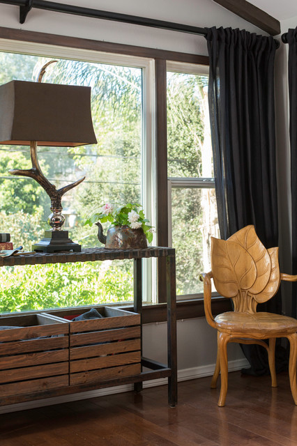 Antler Lamp Spaces Eclectic with Categoryspacesstyleeclecticlocationmalibu Malibou Lake California United