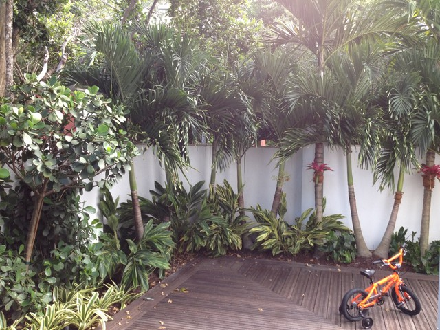 Artificial Palm Trees Landscape Tropical with Deck Garden Palm Trees