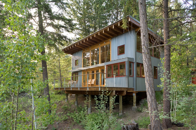 Aspen Roofing Exterior Rustic with Aspens Bay Windows Cabin