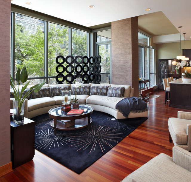 Atria Assisted Living Living Room Contemporary with Accent Pillows Accessories Area
