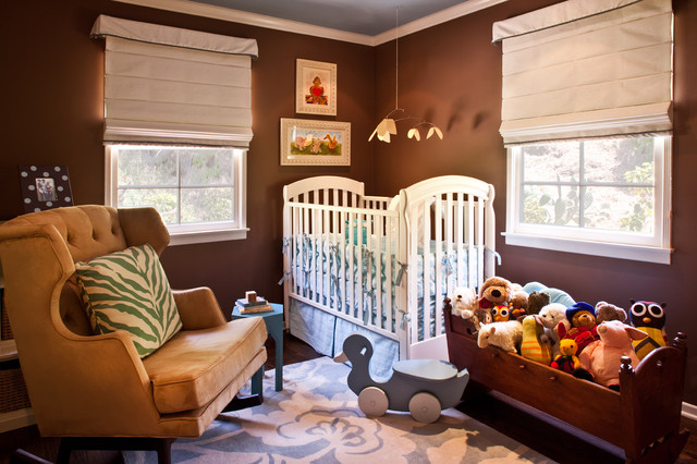 Babyletto Nursery Transitional with Area Rug Blue And