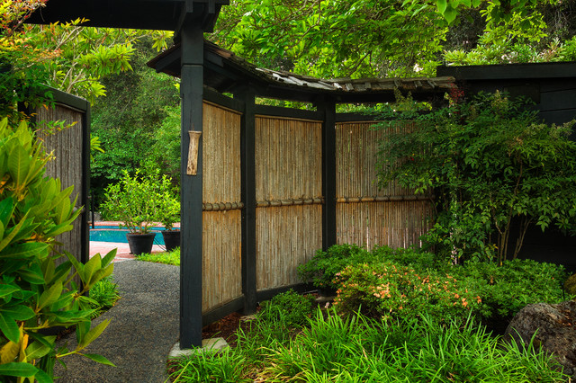Bamboo Fence Panels Landscape Asian with Asian Bamboo Fence Boulders