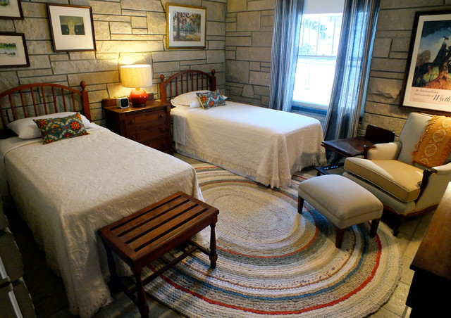 Bates Bedspreads Bedroom Eclectic with Bates of Maine Guest