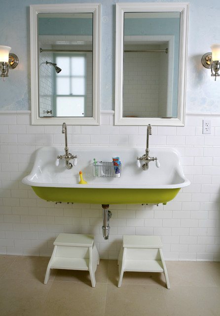 Bathroom Sink Stopper Bathroom Traditional with Double Faucet Framed Mirrors