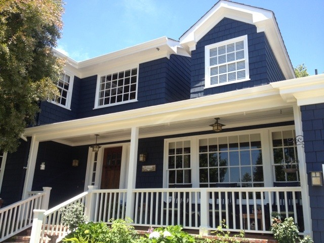 Book Embosser Exterior Traditional with Blue Exterior Blue Paint