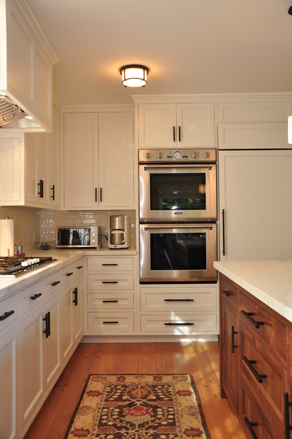 Bosch Double Oven Kitchen Contemporary with Cabinet Front Refrigerator Ceiling