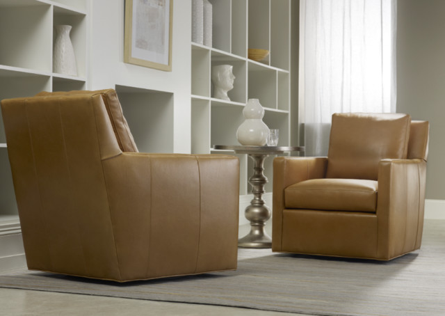 Bradington Young Living Room Transitional with Bradington Young Bradington Young Caramel