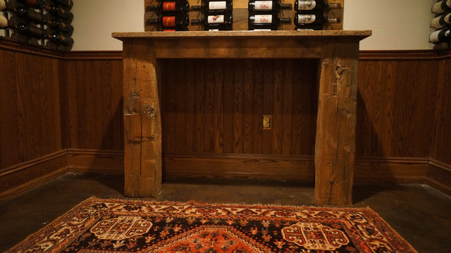 Breezaire Spaces Traditional with Basement Remodel Basement Wine16