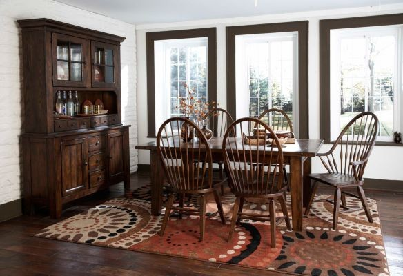 Broyhill Attic Heirlooms Dining Room with Buffets and Sideboards Cabin