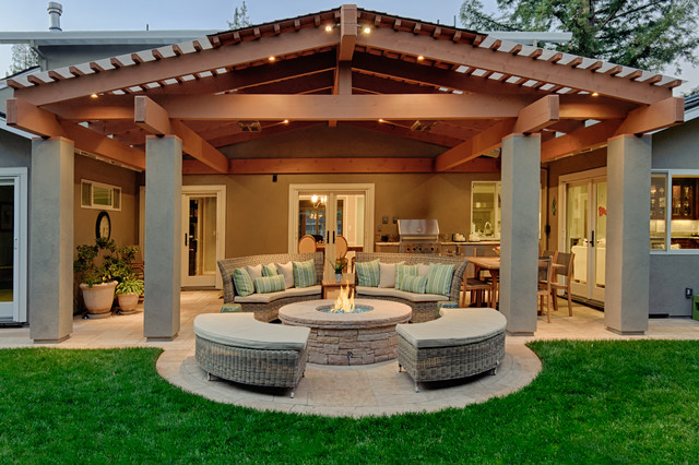 Broyhill Furniture Reviews Patio Traditional with Covered Patio Glass Door1