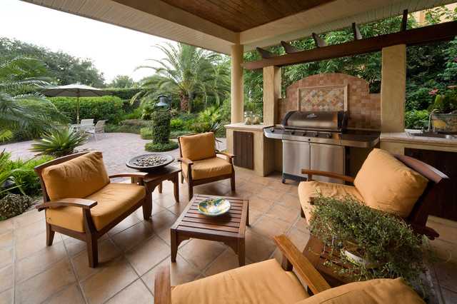 Built in Charcoal Grill Patio Contemporary with Arbor Barbecue Covered Patio