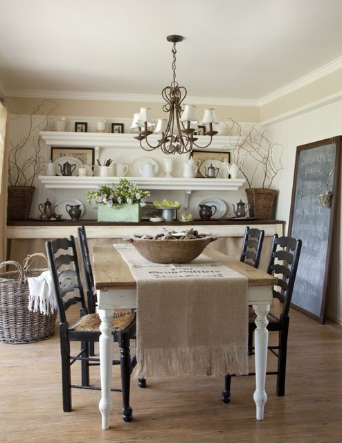 Burlap Table Runners Dining Room Traditional with Branches Burlap Table Runner