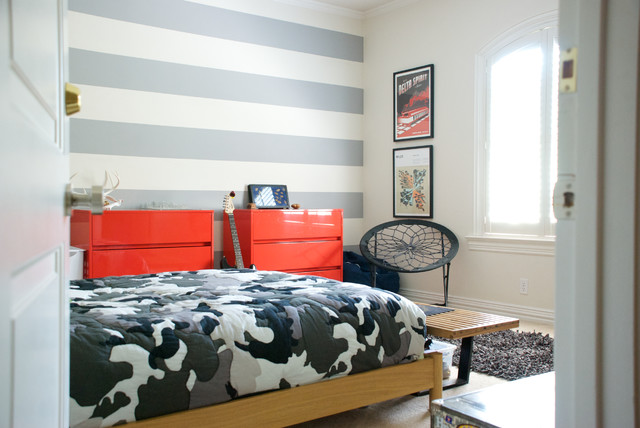 Camo Bedding Sets Kids Contemporary with Arched Window Boys Bedroom