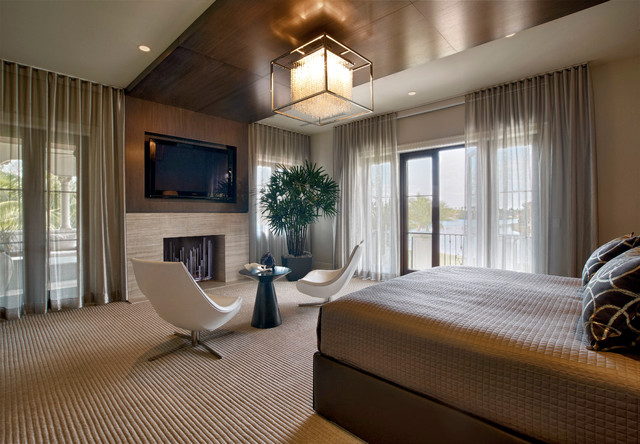 carpet mill outlet Bedroom Contemporary with carpeting ceiling lamp Fireplace