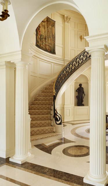 Carpet Runners by the Foot Staircase Traditional with Archway Art Niche Curved