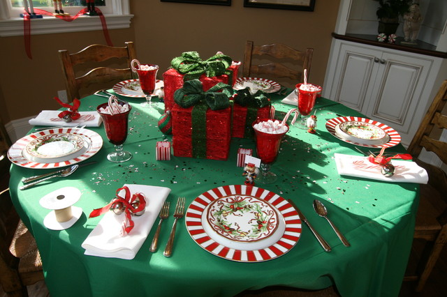 Charger Plates Bulk Dining Room Traditional with Candy Cane Christmas Holidays