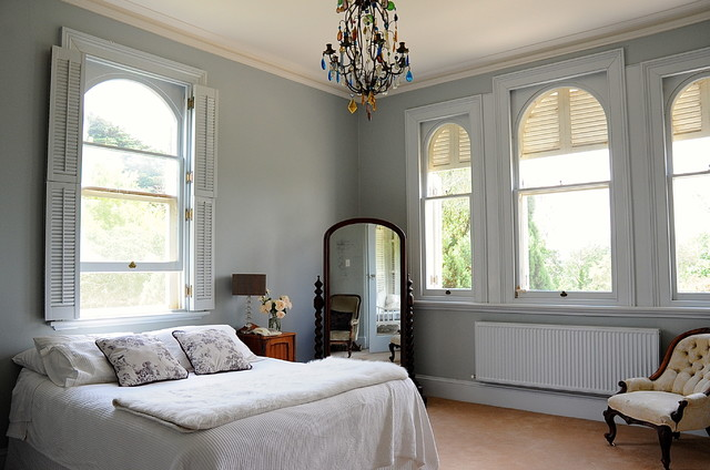 Cheval Mirror Bedroom Traditional with Bedside Lamp Colored Crystal