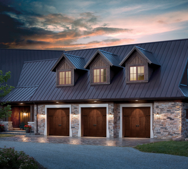 Clopay Garage Door Garage and Shed Traditional with Carriage House Clopay Garage
