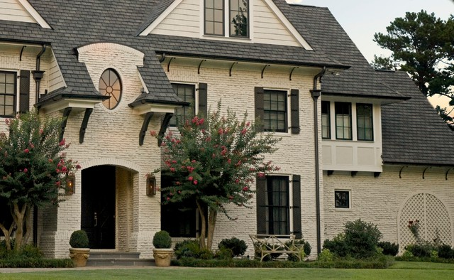 Collis Roofing Exterior Traditional with Arch Arts and Crafts