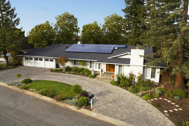 Collis Roofing Exterior Traditional with Home Solar Roofing Gutters