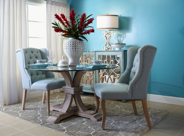 Coral Napkins Dining Room Contemporary with Categorydining Roomstylecontemporarylocationlos Angeles