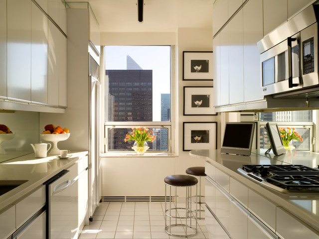Cork Board Sheets Kitchen Contemporary with City View Counter Stools