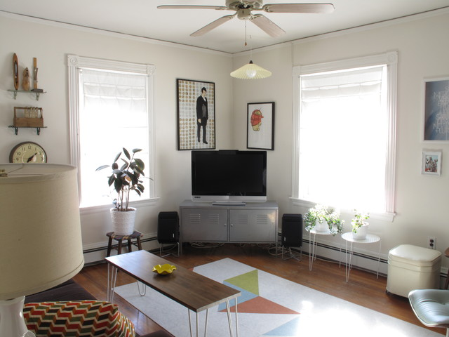 Corner Tv Stand Ikea Living Room Eclectic with Area Rug Ceiling Fan