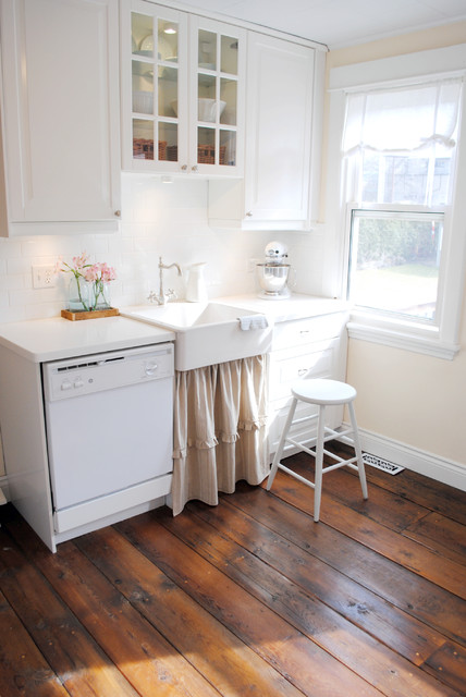 Cost to Install Hardwood Floors Kitchen Shabby Chic with Barnboard Floor Country Farm
