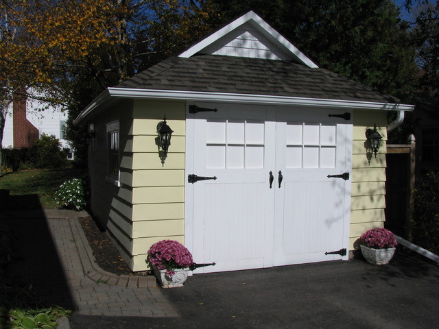 Costco Garage Doors Garage and Shed Craftsman with Brick Paving Carriage Doors