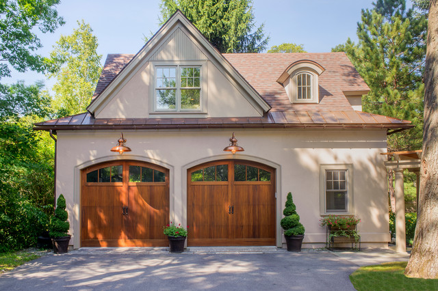 costco garage doors Garage And Shed Traditional with 2 car 2 car