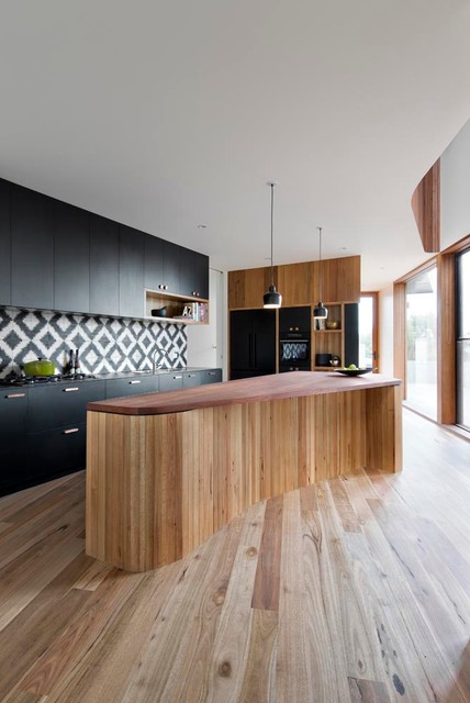 Costco Laminate Flooring Kitchen Contemporary with Black and White Kitchen