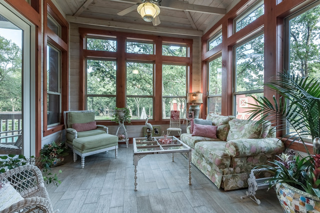 Craftmade Fans Sunroom Traditional with Ceiling Fan Ceramic Planters