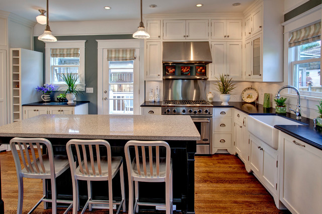Croscill Curtains Kitchen Craftsman with Black Cabinets Black Countertop