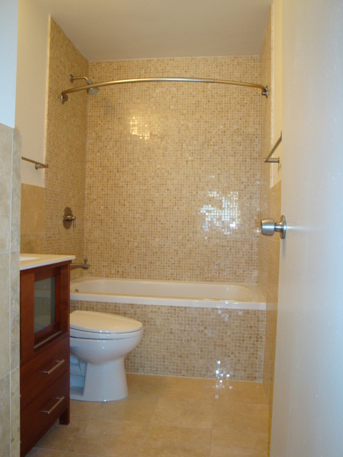 Curved Shower Rods Bathroom Eclectic with Categorybathroomstyleeclecticlocationchicago