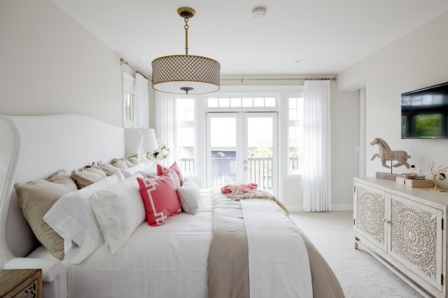 darby-furniture-Bedroom-Transitional-with-bedding-curtains ...