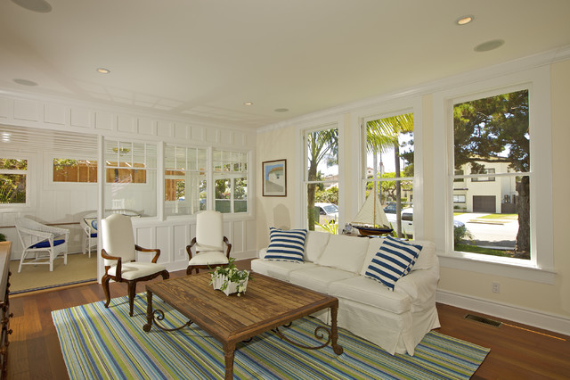 Dash and Albert Rugs Living Room Traditional with Beach House Coffee Table