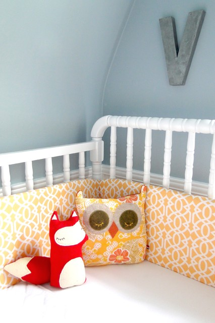 Davinci Jenny Lind Crib Kids Contemporary with Blue and Yellow Blue
