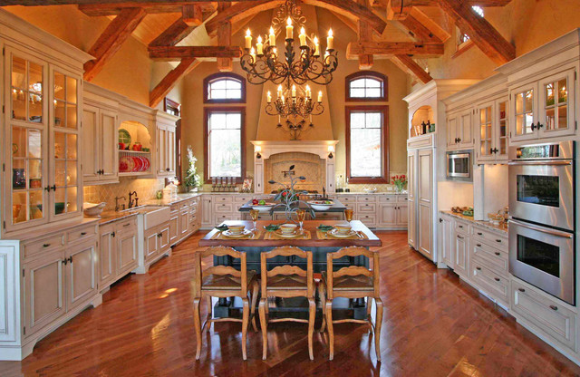 Dishwashers at Lowes Kitchen with American Rustic Dining Room