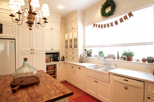 Dishwashers Sears Kitchen Traditional with Apron Sink Banner Cabinets